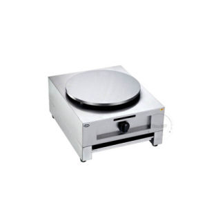 Commercial Single Plate Gas Electric Crepe Maker Pancake Machine pictures & photos
