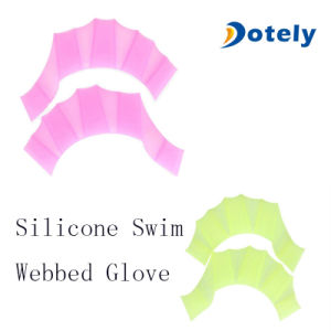 Silicone Swim Glove Gear Fins Hand Webbed Flippers pictures & photos