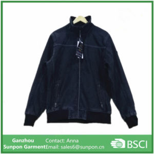 Men′s Upset Jean Jacket with Factory Price pictures & photos