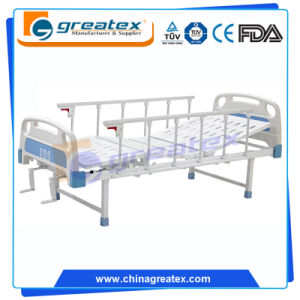 Two Crank Simple Manual Bed Without Wheels (GT-BM5201) pictures & photos