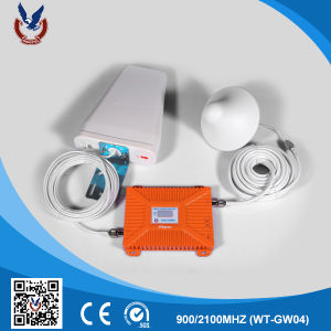 Wireless Cell Phone Network Signal Booster with Aerial for Home pictures & photos