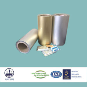 Moisture-Resistant Tropical-Type Blister Aluminum for Pharmaceutical Packaging Alloy 8021 pictures & photos