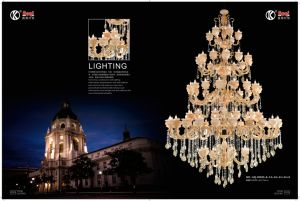 Hotel Project Luxury Zinc Alloy Crystal Chandelier Light pictures & photos