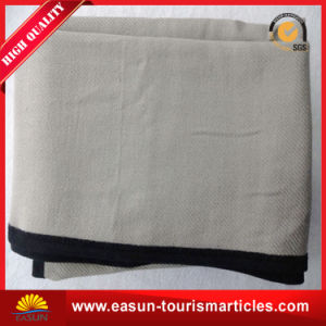 100%Polyester Promotional Polar Microfiber Picnic Fleece Blanket pictures & photos