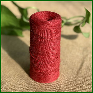1ply Red Color Jute Twine for Handicraft pictures & photos