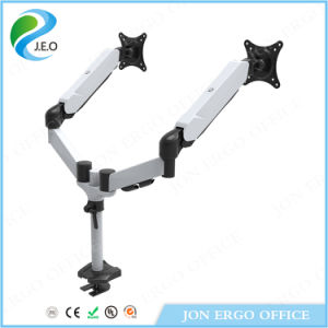 Jeo Hot Sale Factory Price 180 Degree Swivel Height Adjustable Ys- Ds324G Desk Clamp Monitor Riser pictures & photos