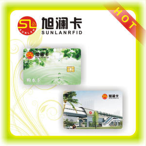 High Quality Cr80 Plastic Contact Smart Card with Magnetic Strip pictures & photos