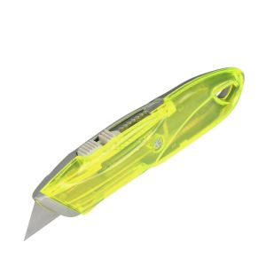 Colorful Handle Metal & Plastic Retractable Utility Cutter Knife pictures & photos