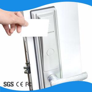 Hotel Room Smart Card Handle Door Hotel Lock pictures & photos