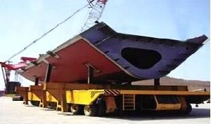 100t Heavy Parts and Ship Section Transporter pictures & photos