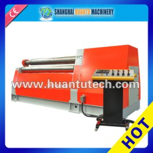 Hydraulic Three Roller Plate Rolling Machine pictures & photos