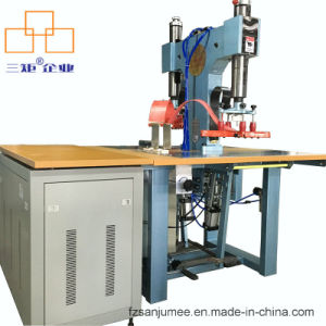 High Frequency Leather Welding and Embossing Machine for Wallet/ Luggage Bag pictures & photos