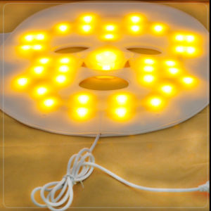 Beauty Instrument LED Light Photon Therapy Rechargeable Face Facial Mask pictures & photos