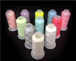 100% Cotton Mercerized Embroidery Thread for Clothing pictures & photos