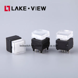 Silent LED Pushbutton Switch for Instrumentation and Communication Equipments pictures & photos