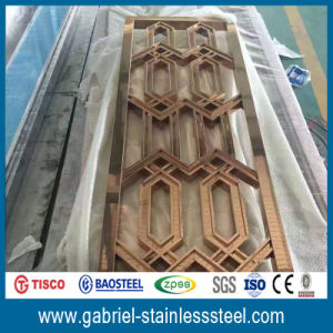 Fashionable Decorative 201 Stainless Steel Matal Screen pictures & photos