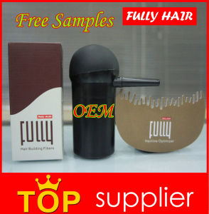 18 Colors Fully Keratin Hair Building Fibers Powder 23G Welcome Private Label pictures & photos