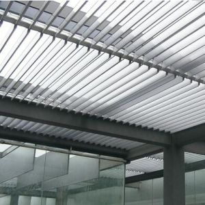 High Quality Aluminum Extrusion Blind Louver for Outdoor Decoration pictures & photos