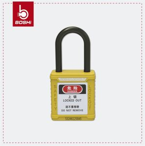 Non-Conductive Shackle ABS Body Safety Padlock (BD-G11) pictures & photos