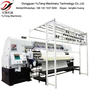 Computerized China Stitch Quilting Machine for Mattress and Duvet Quilt Yt-3000A pictures & photos