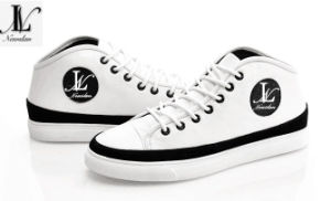 Fashionable Genuine Leather Sneakers Boot (CAS-025) pictures & photos