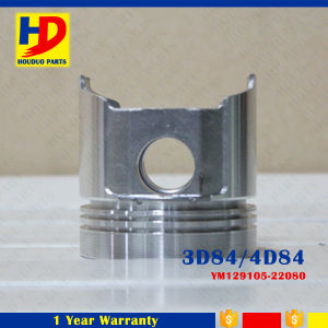 Excavator Diesel Engine Parts 4D84 3D84 for Piston OEM Number (YM129105-22080) pictures & photos