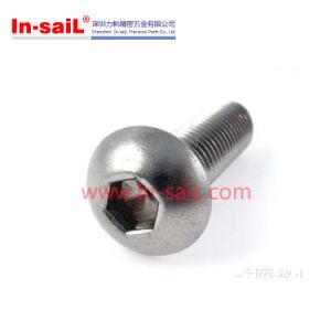 ISO7380 Grade 8.8 Steel Hexagon Socket Button Head Screws pictures & photos