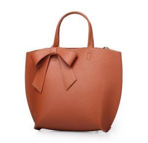 2017 Fashion Lady Designer Handbag Genuine Leather Women′s Food Bag Emg4766 pictures & photos