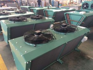 China Hot Sale V Type Air Cooled Condenser/Cooper Tube Condenser for Cold Room pictures & photos
