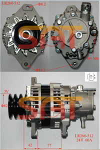Hitachi Alternator LR260-512 8971443921 1014-019RS pictures & photos