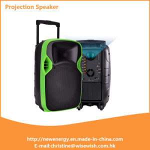 Lowest Professional Active Wireless LED Projection Speaker pictures & photos
