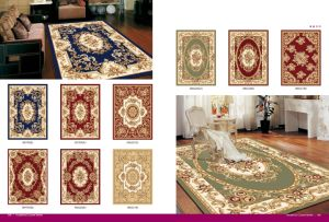 High Qualitywilton Machine Made Oriental Rugs with Carving Patterns pictures & photos
