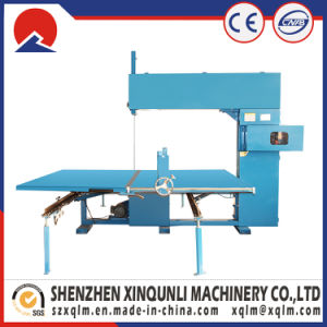 Foam Straight Cutting Machine for Sponge Slices pictures & photos