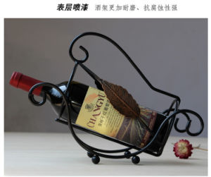 N113 High Quality Wine Bottle Holders Stainless Steel Wine Rack pictures & photos