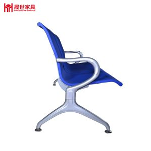 Airport/Hospital/Station Bench Chair with PU 3-Seater Waiting Chair From China Supplier pictures & photos
