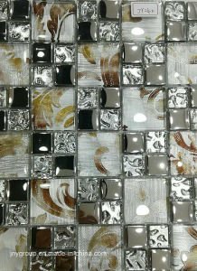 Glass Mosaic Mix with Metal Jy24k pictures & photos