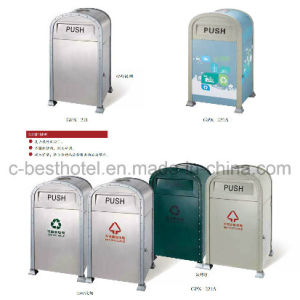 fashion Outdoor Metal Mesh Trash Cans, Metal Dustbin pictures & photos