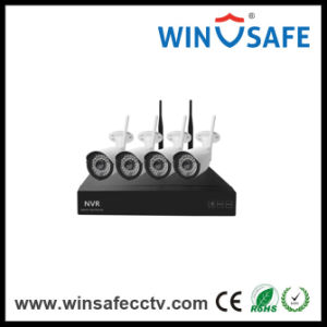 Home Security Video NVR Kits Wireless IP Bullet Camera pictures & photos