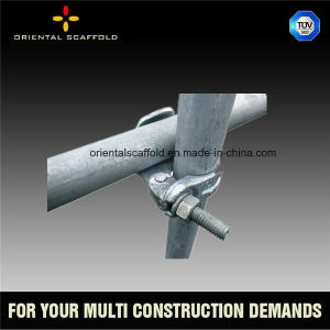 Durable Steel Scaffolding Systems Tube Coupler pictures & photos