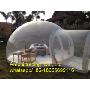 2016 Hot Inflatable Transparent Bubble Tent Camping Tent in Lawn and Snow Tent pictures & photos