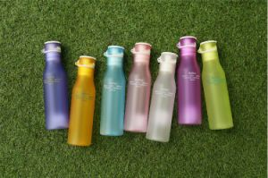 Hot Sale 360ml Frosted Space Water Plastic Bottle for Drinking pictures & photos