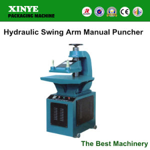 Hydraulic Press Swing Arm Hole Puncher Cutting Machine (BX-10T) pictures & photos