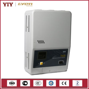 Yiy 10kVA Automatic Voltage Stabilizers Servo Type House Stabilizer Voltage Steplizer pictures & photos