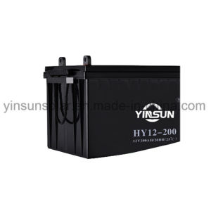 12V 200ah Reliable Quality Solar Battery with 12 Months Warranty pictures & photos