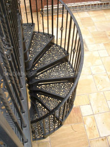 Cast Aluminium Spiral Staircases / Large Victorian Spiral Staircase pictures & photos