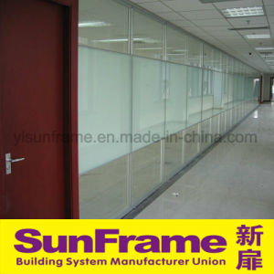Aluminium Partition Wall with Film Glasses pictures & photos