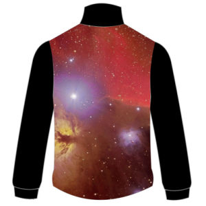 100% Polyester Jacket with Nebula Pattern pictures & photos