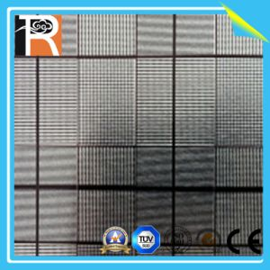 Checkered Stripes Metallic HPL Sheet (JK06354) pictures & photos