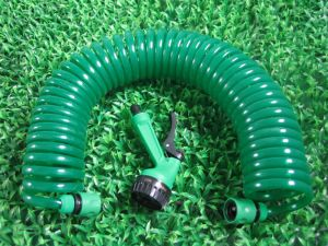 25FT Heavy Duty TPU Coil Garden Hose, 1/2 Inch, pictures & photos