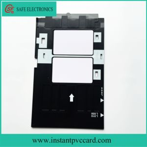 Plastic PVC Card Tray for Epson A50 Printer pictures & photos